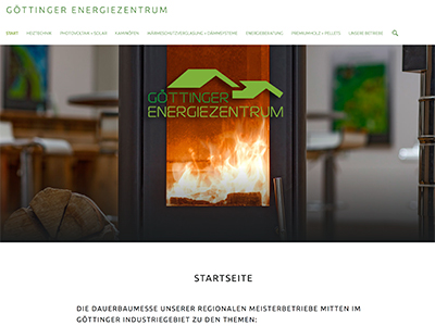 Imprints | Website: Göttinger Energiezentrum