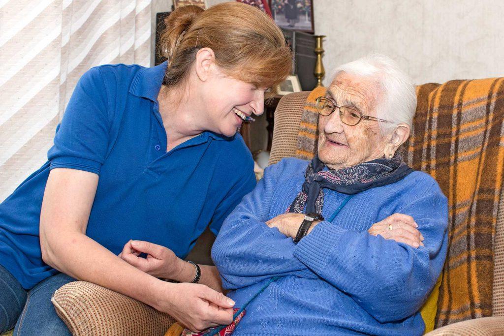 Fotografie | Arbeitswelt: Seniorenbetreuung
